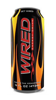 Wired energy drink